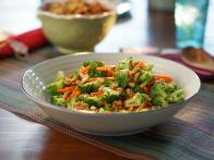 Broccoli Carrot Salad with Honey Dijon Vinaigrette