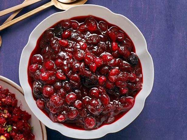 Ancho-Maple Cranberry Sauce