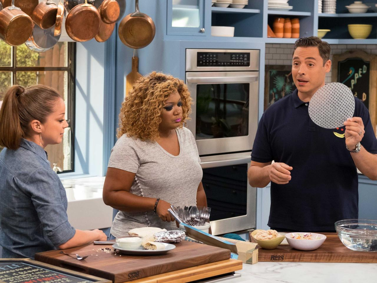 The Kitchen Food Network Wrapped And Rolled  The Kitchen  Food Network