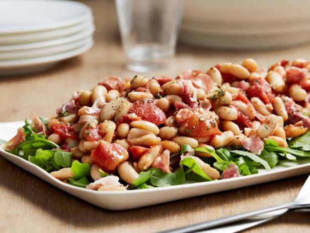 Cannellini Beans with Herbs and Prosciutto