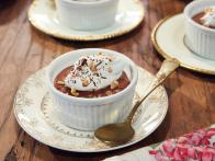 Chocolate Mousse with Hazelnut Whipped Cream