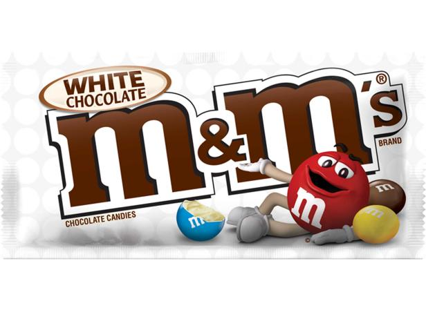 White Chocolate Fans, Your M&M's Will Soon Be Here