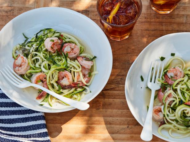 Shrimp Scampi Zoodles