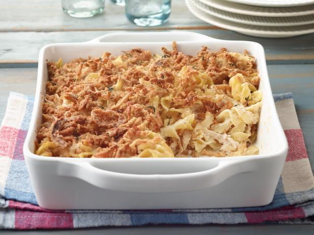 French Onion Noodle Casserole