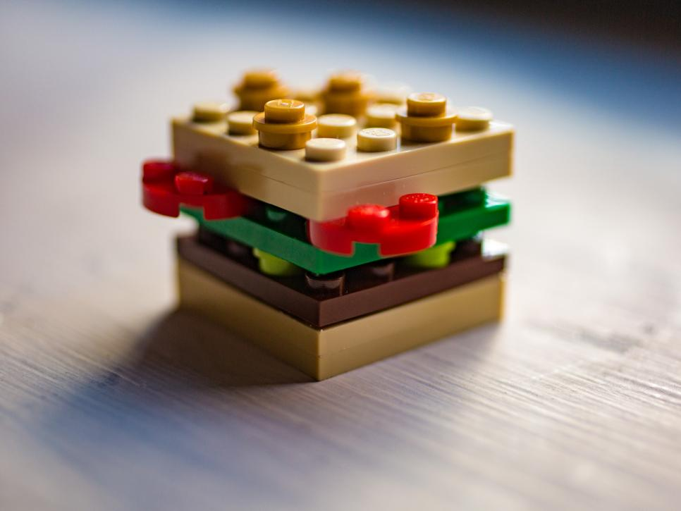 Lego Toy Food : Lego foods are the perfect weekend project family