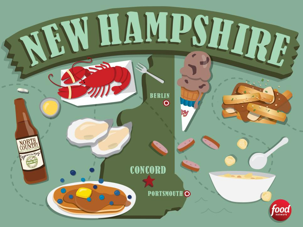 New Hampshire Main Food