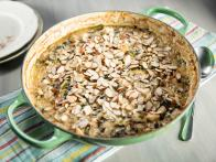 Smoky Chicken, Broccoli Rabe and Wild Rice Casserole
