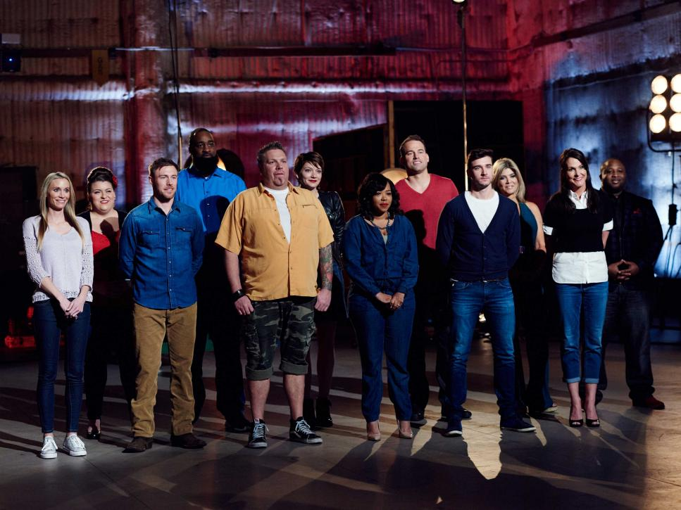 The Next Food Network Star food network star, season 12: on the set of the premiere with