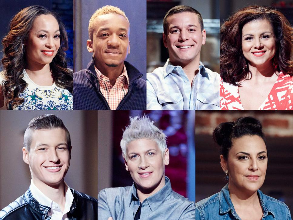 The Kitchen Food Network Cast meet the finalists competing on food network star: comeback