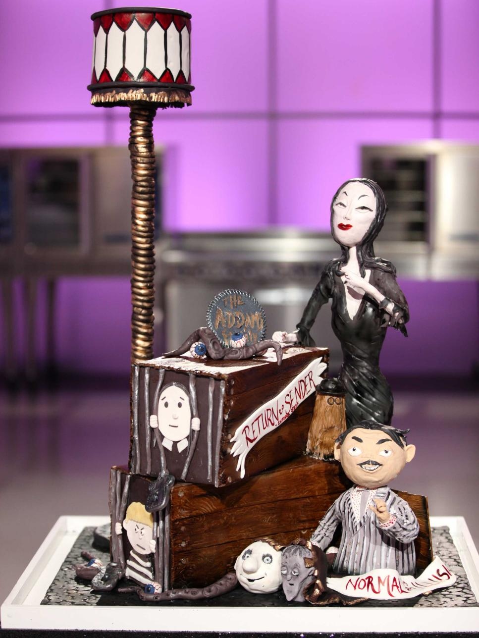 Cake Wars Addams Family Recipes
