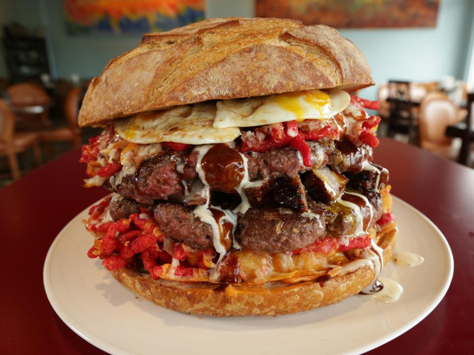 Where To Find The Best Ginormous Food In Las Vegas Ginormous Food Food Network