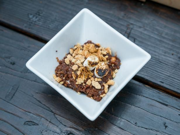 Campfire Trail Mix Pudding