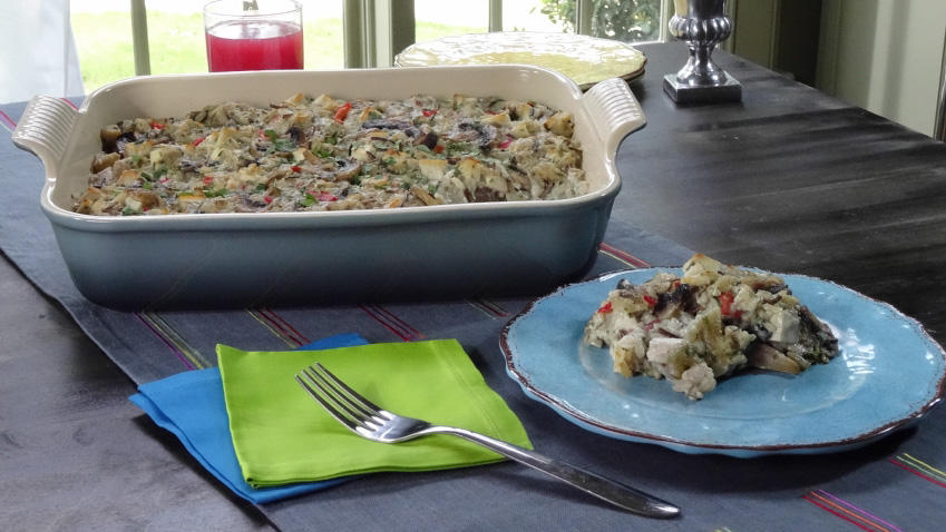 Wild rice salad recipe ina garten food network Ina garten chicken casserole recipes