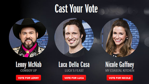 The Next Food Network Star vote now for the next food network star | food network star: show