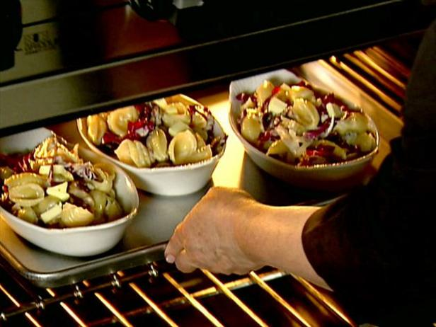 Conchiglie al forno with mushrooms and radicchio recipe Ina garten summer pasta