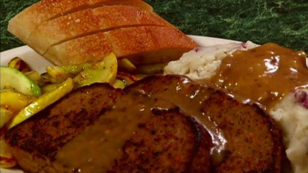 Meatloaf At The Metro Diner Food Network