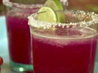 Frozen Cactus Pear Margaritas