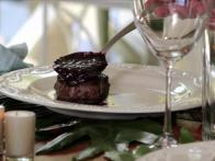 Rosemary Beef Tenderloin with Blackberry Red Wine Sauce