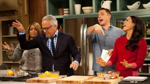 The Kitchen Food Network Cast welcome to the kitchen | the kitchen | food network