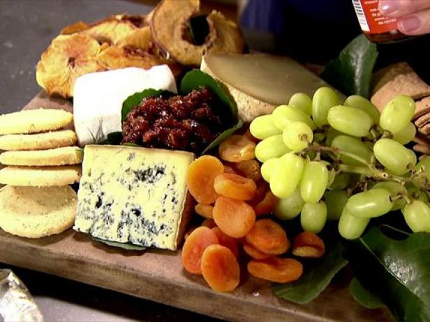 All american cheese board recipe ina garten food network Ina garten appetizer platter