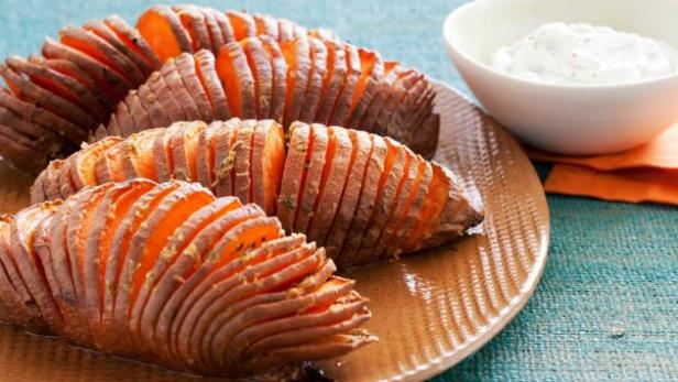 Hasselback Sweet Potatoes Food Network