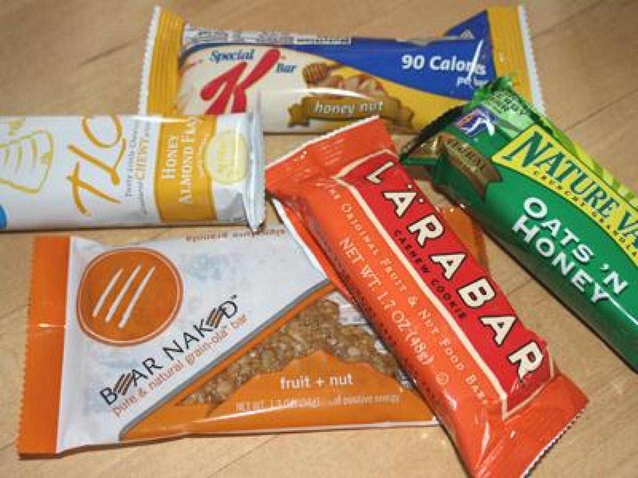 healthy snack bars taste test snack bars food network healthy eats 10067