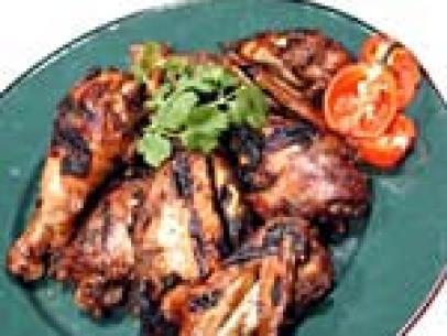 Grilled Jerk Chicken With Mango Cilantro Salsa Recipe Bobby Flay