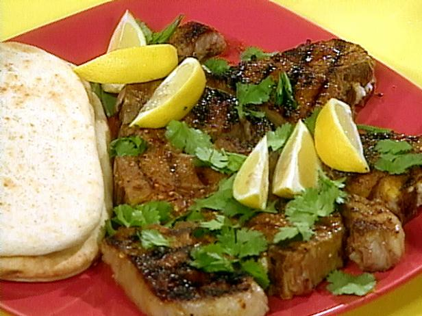 Moroccan Rub Lamb Chops