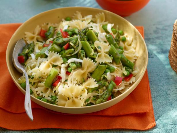 Asparagus pasta salad recipe rachael ray food network asparagus pasta salad forumfinder Choice Image