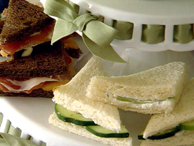 Tea Sandwiches Recipe Sandra Lee Food Network