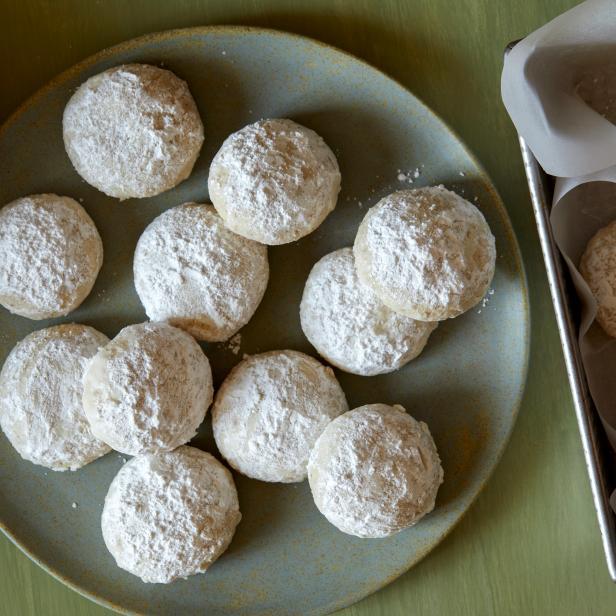 Almond Snowball Cookies
