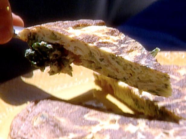 Zucchini frittata recipe michael chiarello food network zucchini frittata forumfinder Gallery
