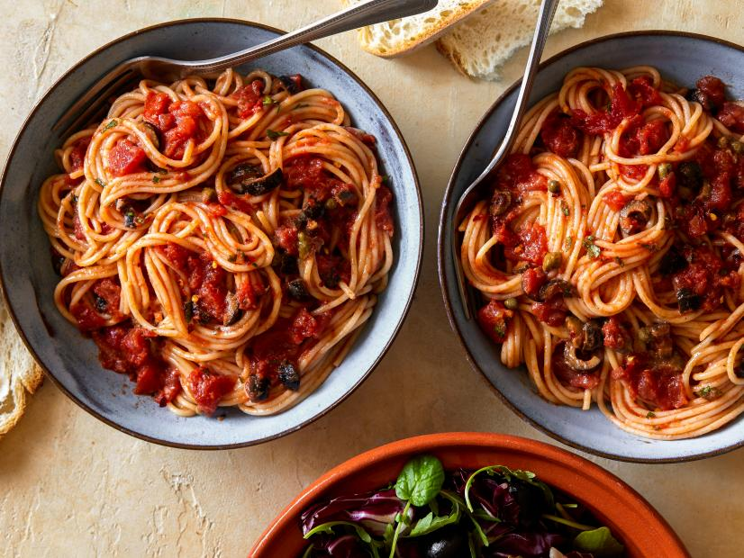 Pasta puttanesca recipe rachael ray food network forumfinder Choice Image