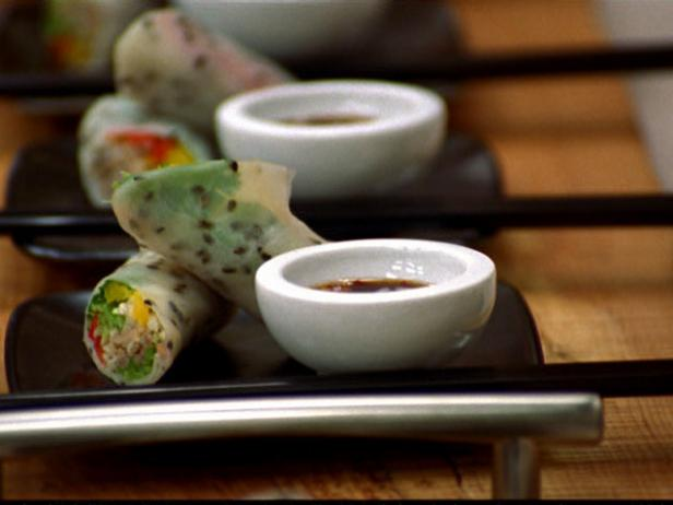 Rice Paper Wraps with Vegetables