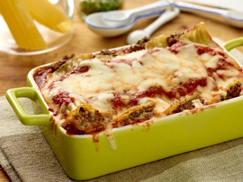 beef and cheese manicotti recipe giada de laurentiis food network