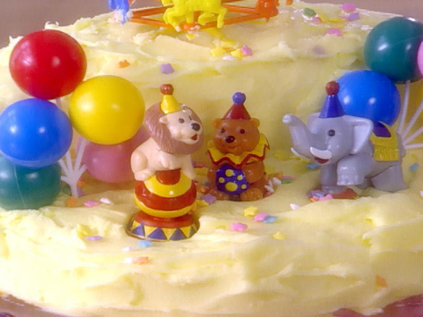 Birthday Stage Cake Recipe Sandra Lee Food Network