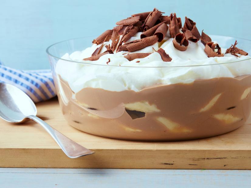 Milk Chocolate Banana Pudding Recipe | Bobby Flay | Food ...