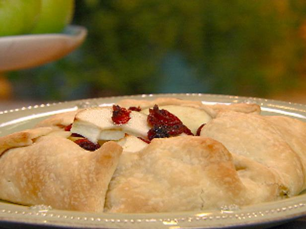 Apple-Cranberry Galette