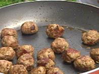 The Juiciest Meat Balls Ever