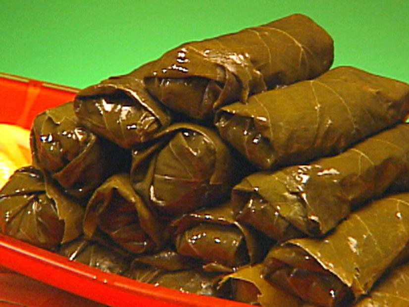 Stuffed Grape Leaves Recipe George Duran Food Network