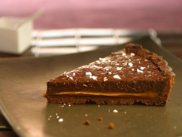 Double Chocolate Tart with Dulce de Leche