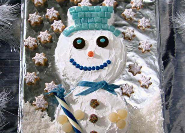 Snowman Cupcakes Food Network