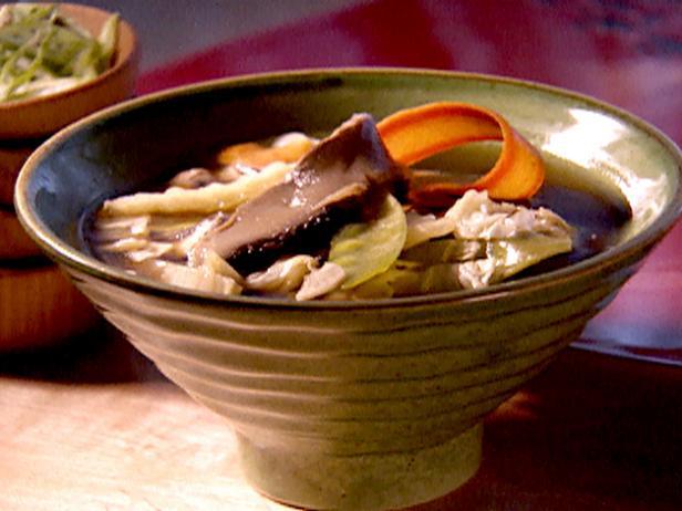 mushroom soup recipe Asian