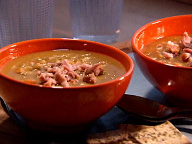 Split pea soup with ham hocks recipe dave lieberman food network split pea soup with ham hocks forumfinder Gallery