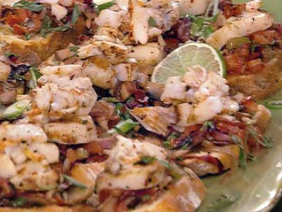 Pesto Bruschetta Recipe Food Network