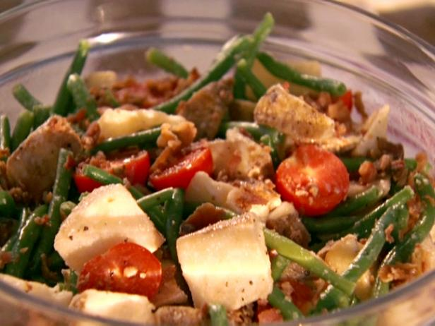 Potato and Green Bean Salad with Ale House Dressing