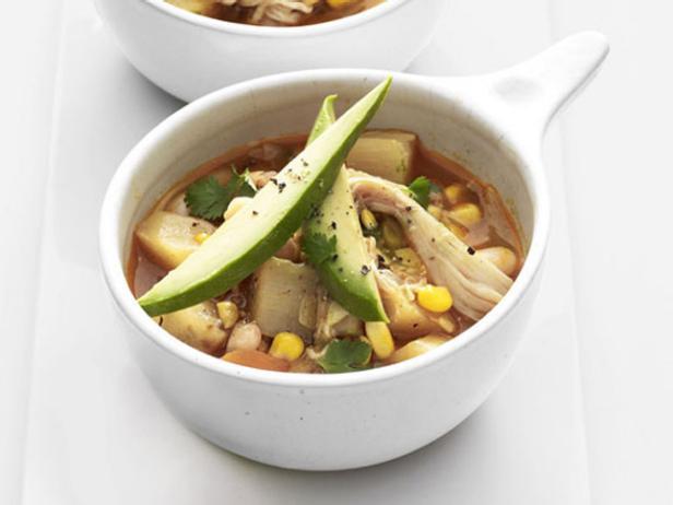 White chicken chili stew recipe food network kitchen food network white chicken chili stew forumfinder Gallery