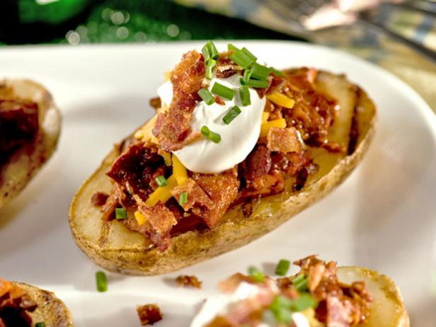 Grilled BBQ Potato Skins