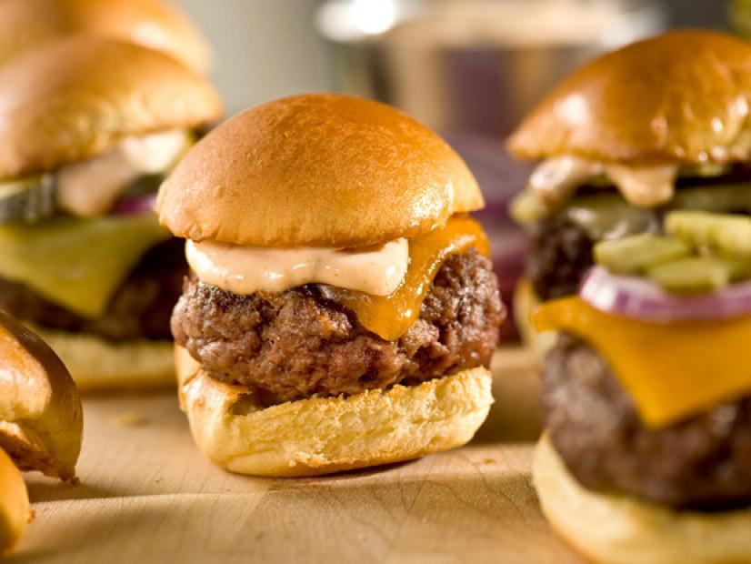 Sliders With Chipotle Mayonnaise Recipe Bobby Flay Food Network