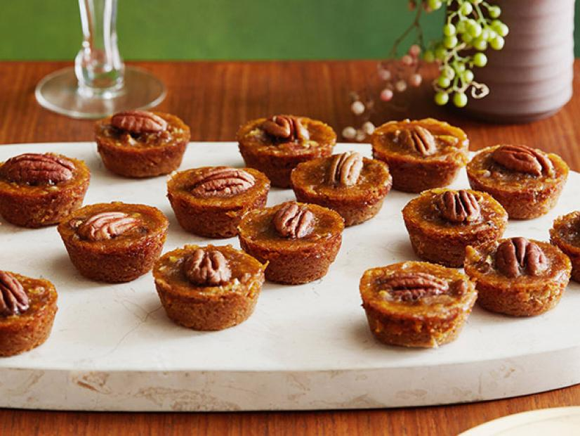 Mini Pecan Pumpkin Pies Food Network
